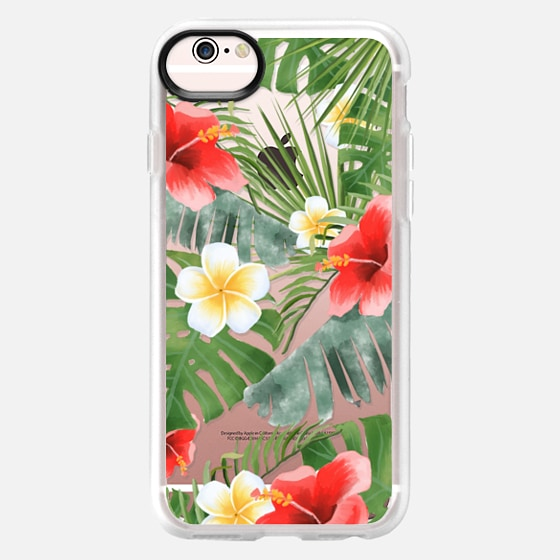 iPhone 6s Case - tropical vibe (transparent)