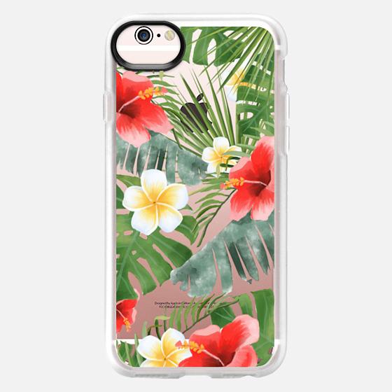 iPhone 6s Coque - tropical vibe (transparent)