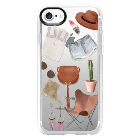iPhone 7 Plus Cases - boho chic