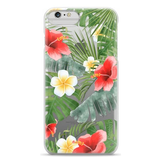 iPhone 6 Plus Cases - tropical vibe (transparent)