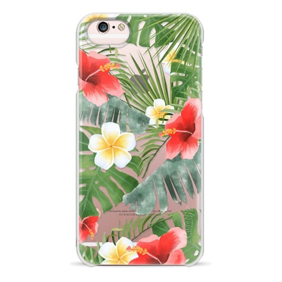 iPhone 6s Cases - tropical vibe (transparent)