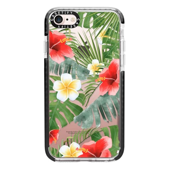 iPhone 7 Cases - tropical vibe (transparent)