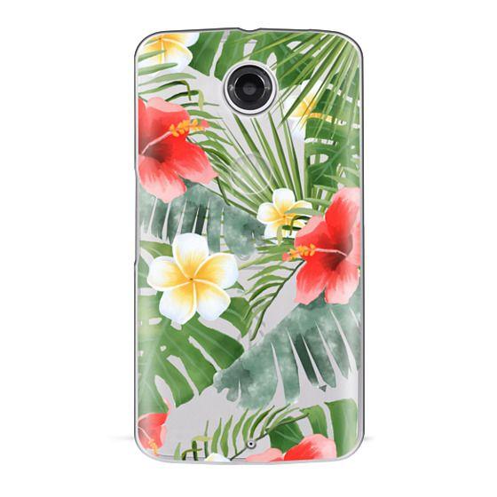 Nexus 6 Cases - tropical vibe (transparent)