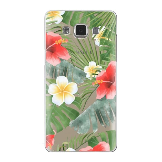 Samsung Galaxy A5 Cases - tropical vibe (transparent)