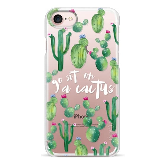 brand new f1d5f 8cef8 Snap iPhone 7 Case - go sit on a cactus
