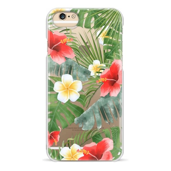 iPhone 6 Cases - tropical vibe (transparent)