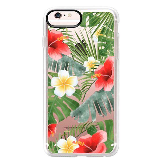 iPhone 6s Plus Cases - tropical vibe (transparent)