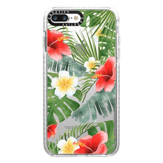 iPhone 7 Plus Cases - tropical vibe (transparent)