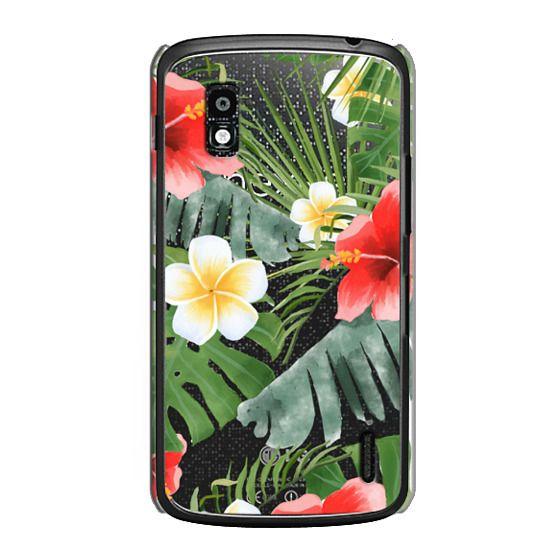 Nexus 4 Cases - tropical vibe (transparent)