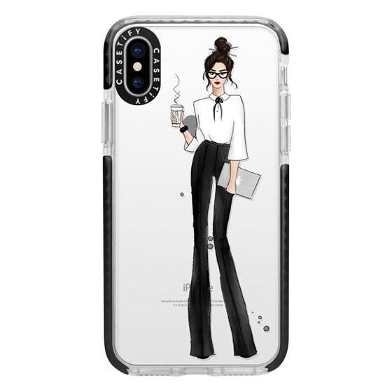 iPhone X Cases - nerd look