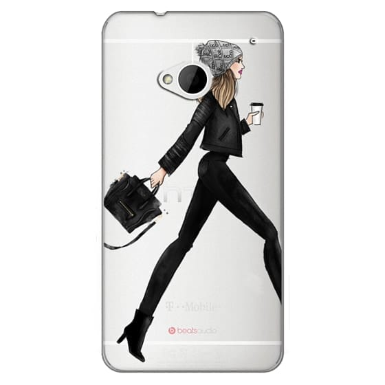 Htc One Cases - busy girl
