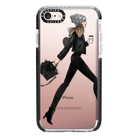 iPhone 7 Cases - busy girl