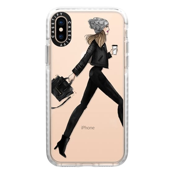 iPhone XS Cases - busy girl