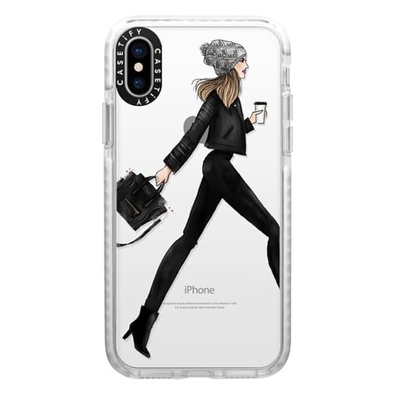 iPhone X Cases - busy girl