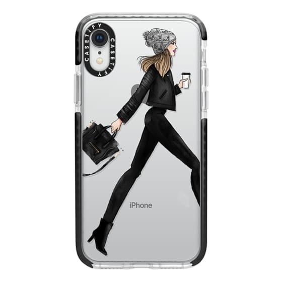 iPhone XR Cases - busy girl