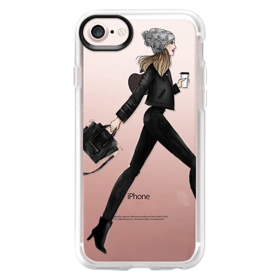 iPhone 4 Cases - busy girl