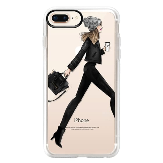 iPhone 8 Plus Cases - busy girl