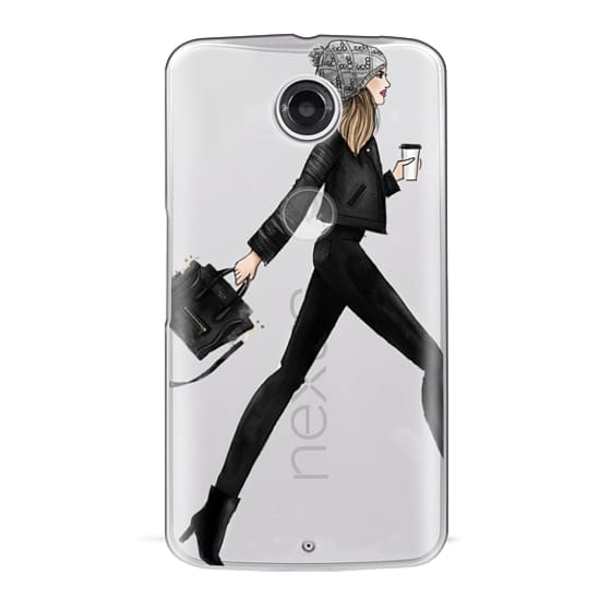 Nexus 6 Cases - busy girl