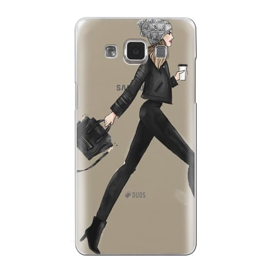 Samsung Galaxy A5 Cases - busy girl