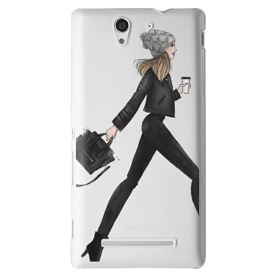 Sony C3 Cases - busy girl