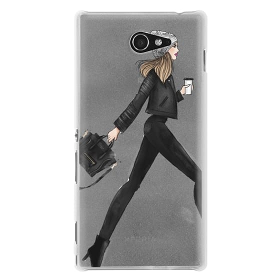 Sony M2 Cases - busy girl