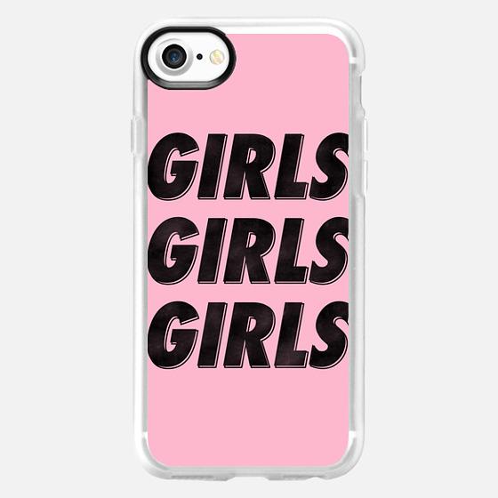 Girls Girls Girls [Black] - Wallet Case