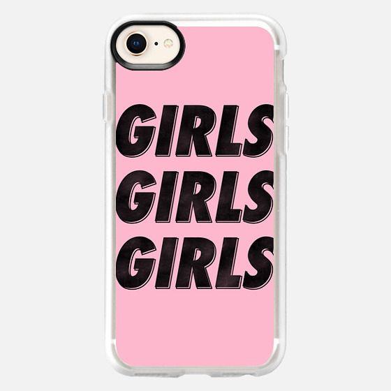 Girls Girls Girls [Black] - Snap Case