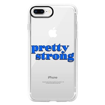 Grip iPhone 8 Plus Case - Pretty Strong [Clear]