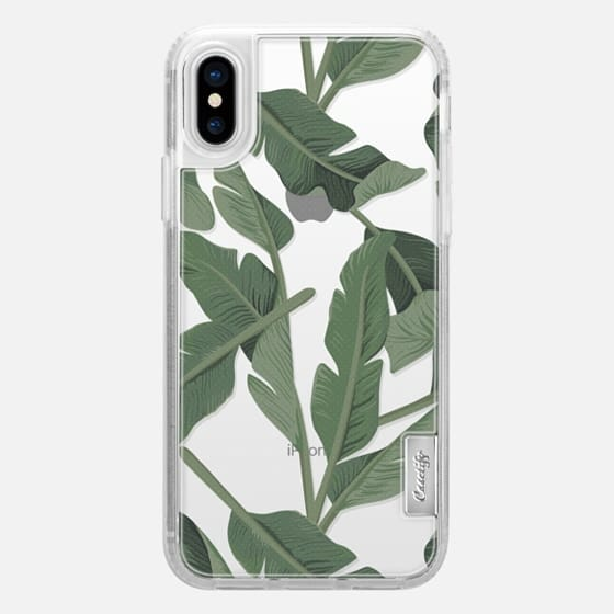 Tropical '17 - Forest [Banana Leaves] Clear - Classic Grip Case