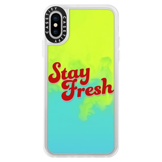 iPhone X Cases - Stay Fresh
