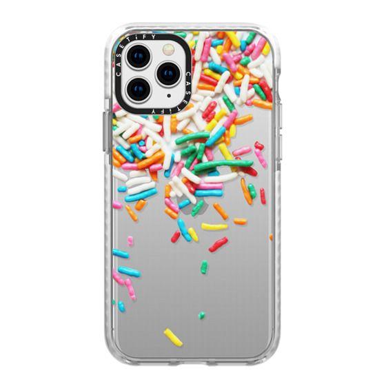 iPhone 11 Pro Cases - Sprinkles II [transparent]