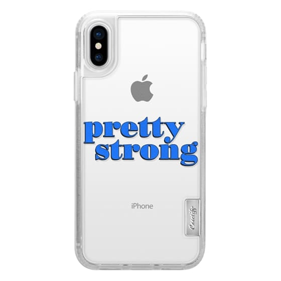 iPhone X Cases - Pretty Strong [Clear]