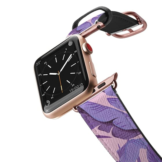 Apple Watch 38mm Bands - Tropical '17 - Starling [Banana Leaves]