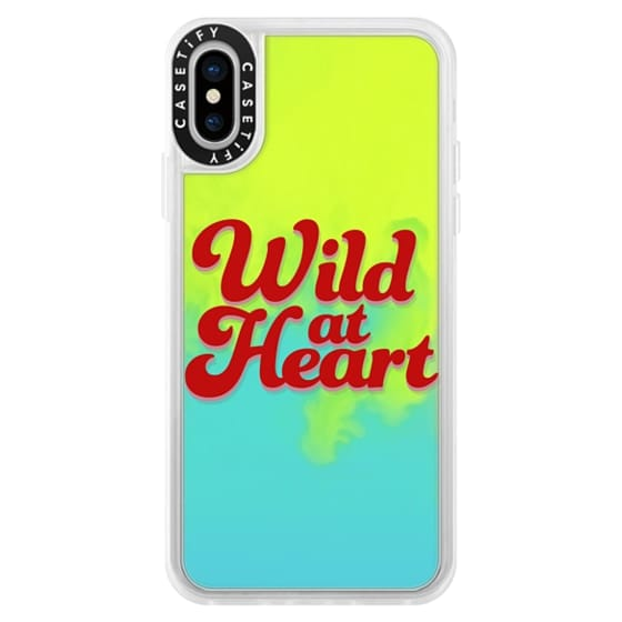iPhone X Cases - Wild At Heart [Red]