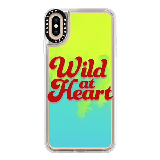 iPhone XS Max Cases - Wild At Heart [Red]