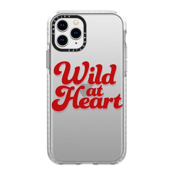 iPhone 11 Pro Cases - Wild At Heart [Red]