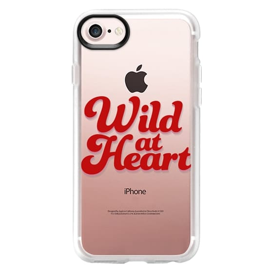 iPhone 7 Cases - Wild At Heart [Red]