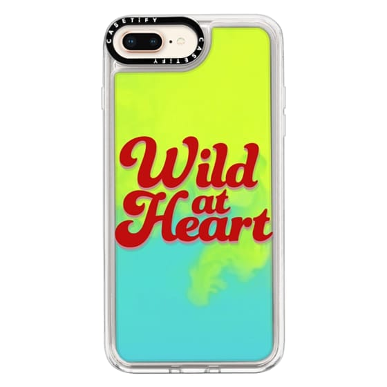 iPhone 8 Plus Cases - Wild At Heart [Red]