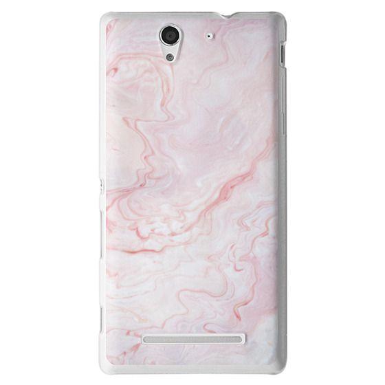 Sony C3 Cases - Sand II [Marble]