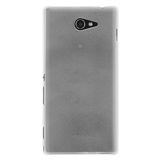 Sony M2 Cases - Sand II [Marble]