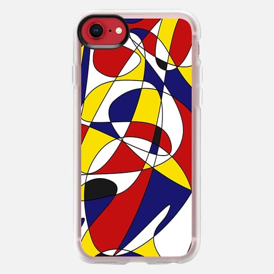 MONDRIAN AND GAUSS (iphone) - Snap Case