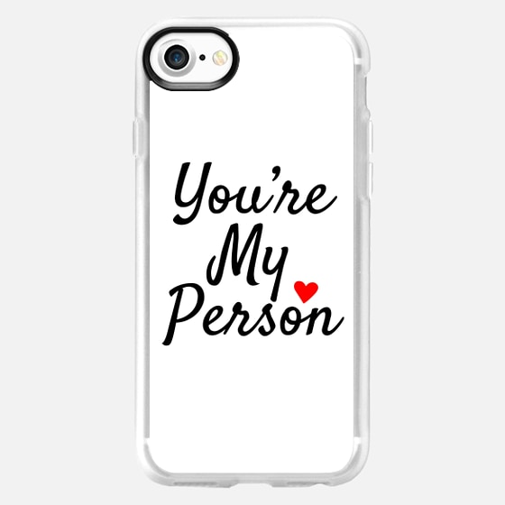 You're My Person BFF Best Friend Mom Dad - Wallet Case