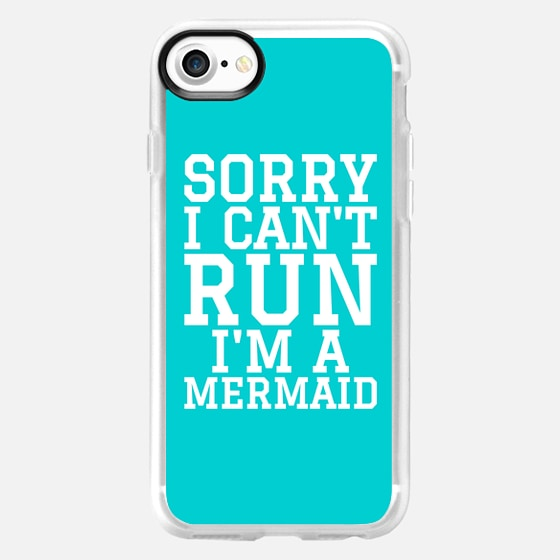SORRY I CAN'T RUN I'M A MERMAID - Wallet Case