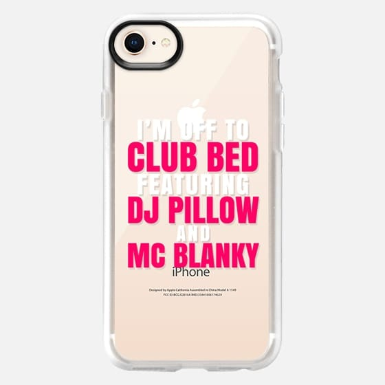 I'm Off to Club Bed Featuring DJ Pillow & MC Blanky - Snap Case