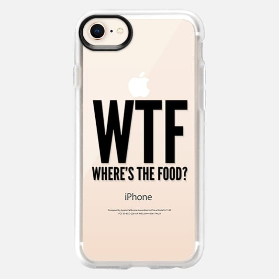 WTF - Where's The Food? - Snap Case