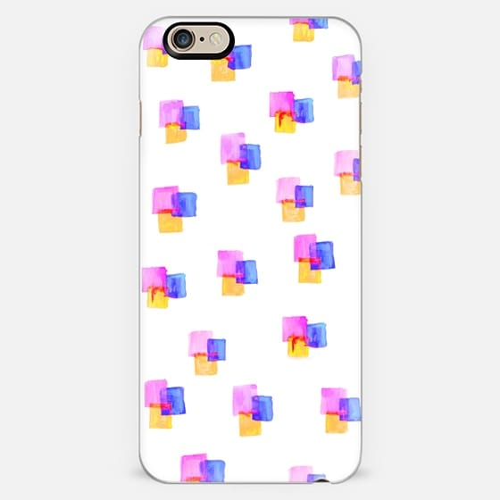 Watercolor Cubes