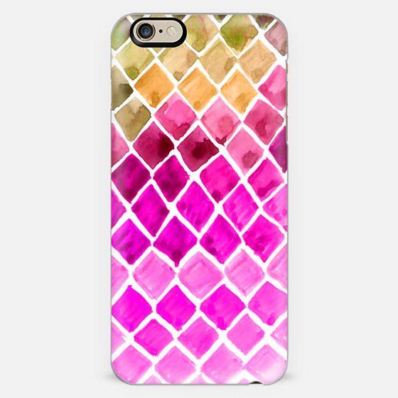 Watercolor Ombre Honeycomb