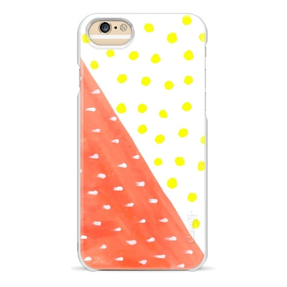 iPhone 6 Cases - Dual Pattern with polka dots