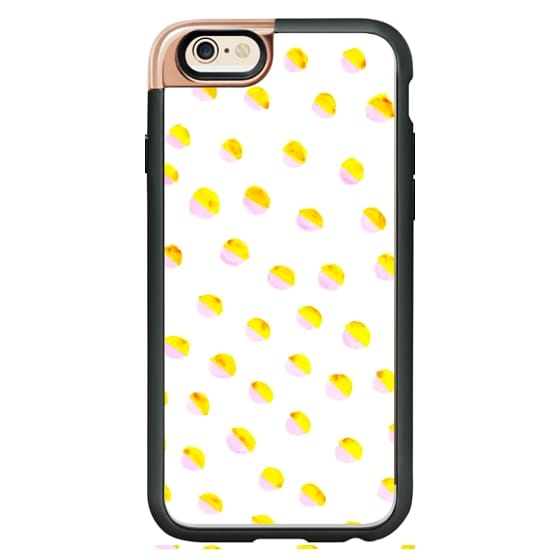 iPhone 6 Cases - Dual Shade Polka Dots