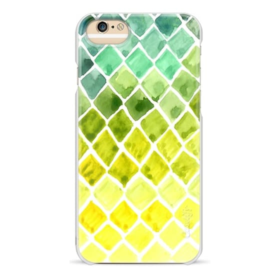 iPhone 6 Cases - Watercolor Ombre Honeycomb - Transparent